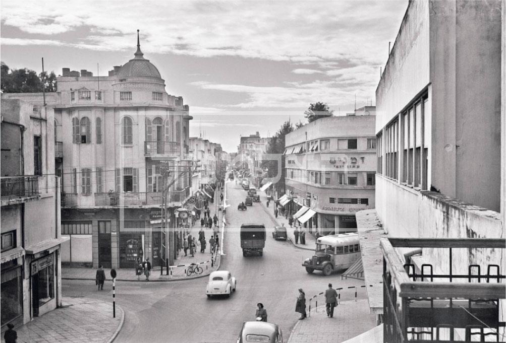 תמונה הסטורית של המדרחוב