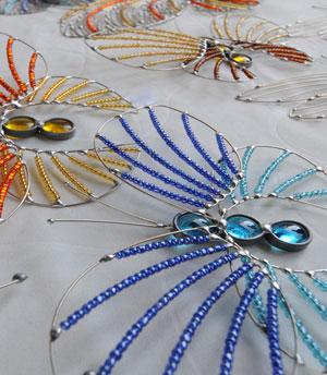 חרקי ויטראז' של אורלי גולן קרן